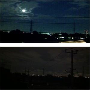 目で見た通りの夜景を伝えたいっ