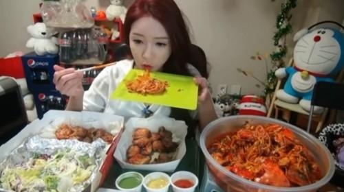 韓国大食い女性no.1