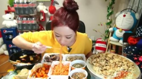 韓国大食い女性no.2