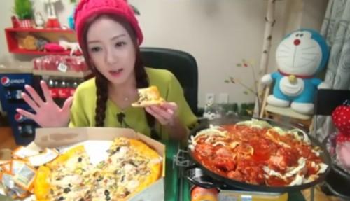 韓国大食い女性no.4