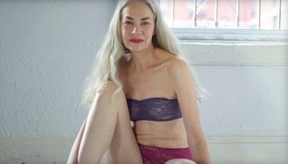 これで62歳!? アメリカンアパレルが起用した下着モデルが美し過ぎると話題に