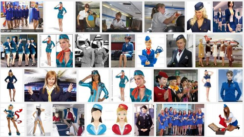 ▲「Stewardess(スチュワーデス)」での検索結果