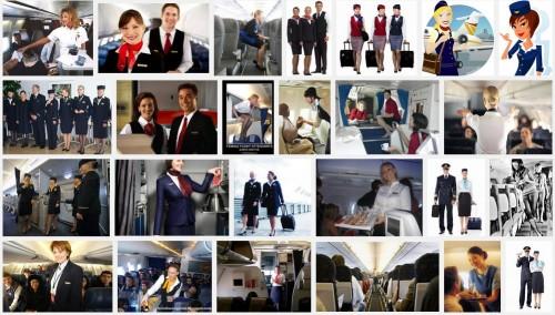 「Flight attendant(客室乗務員)」での検索結果