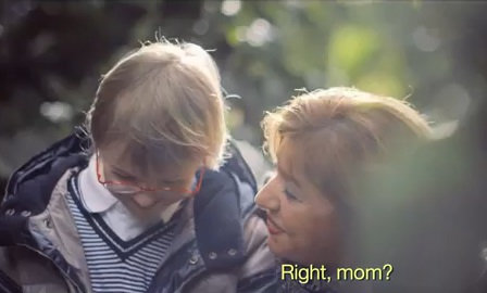 ダウン症の子供の母親を励ます感動動画