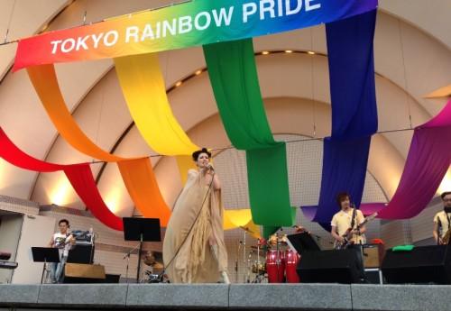 Tokyo Rainbow Week 2014夏木マリさん