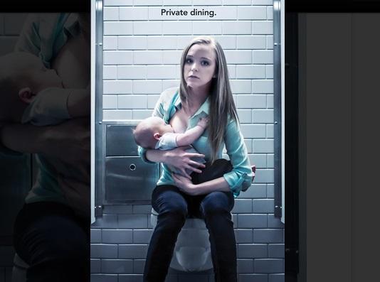 公衆トイレで赤ちゃんに「授乳」!? 「公共の場で母乳を与えるのは迷惑か」海外で議論がヒートアップ中