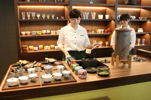 """日本茶を""""食べる""""レストランがOPEN!3"""