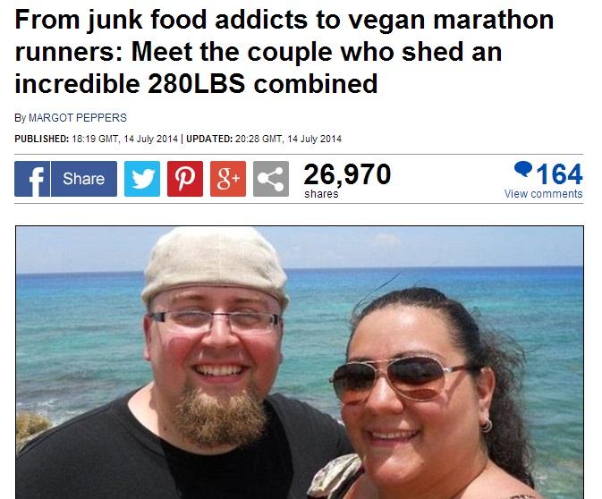 夫婦二人で合計140キロも減量! その方法は? 成功した秘訣は?