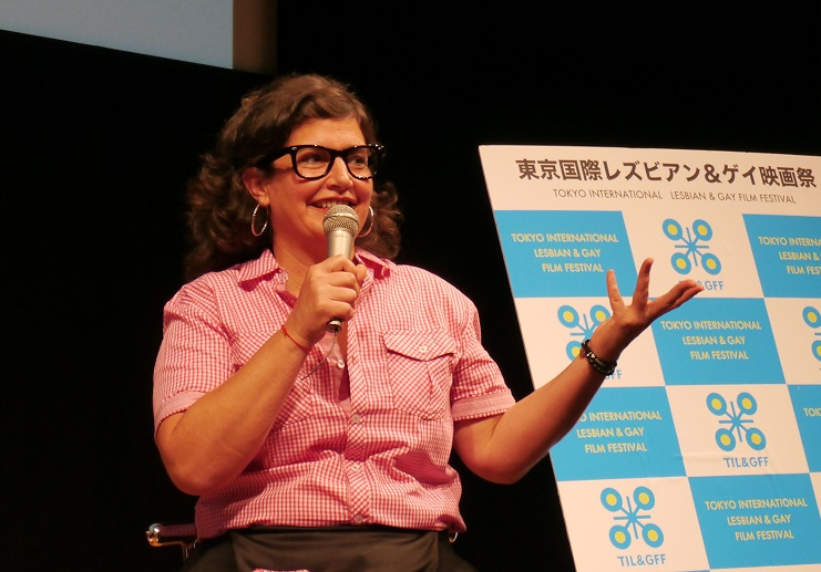 ろくでなし子事件は「ひとつの警告」 女性器の衣装で街を歩いた米女性監督が東京の映画祭でコメント