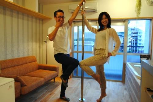左が菊池林太郎さん、右がOLIVIAさん