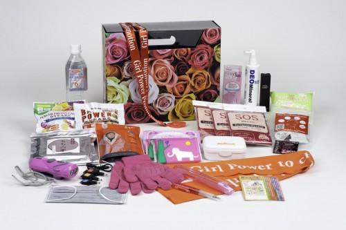 コンドーム入り女性のための防災キット22