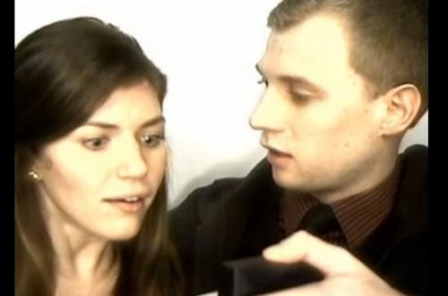 プロポーズの瞬間を撮影した動画