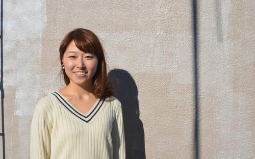 学生団体「manma」の代表、慶應義塾大学2年生の新居日南恵さん