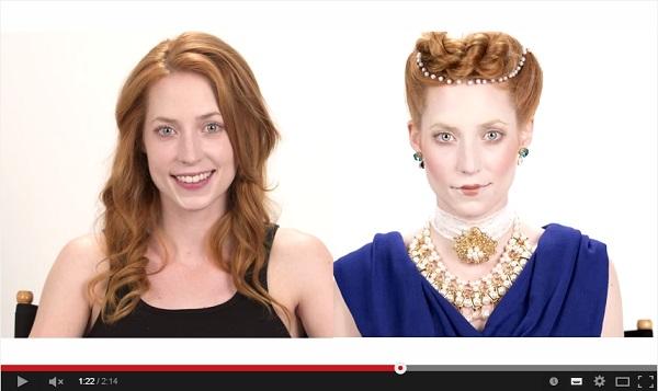 人種の違う3人のモデルが古代女性に変身する動画が話題! 「かわいい!」「普通にアリ」との声