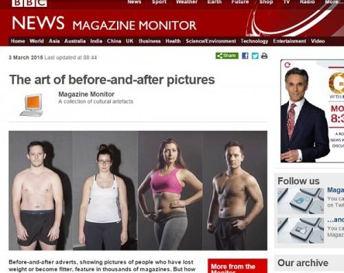 """ダイエット広告の""""ビフォーアフター写真""""はたった2時間で完成! 世界で「減量ビジネス」が加熱する背景"""