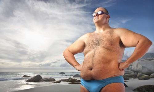 セックスにも決断力を発揮する太め男子