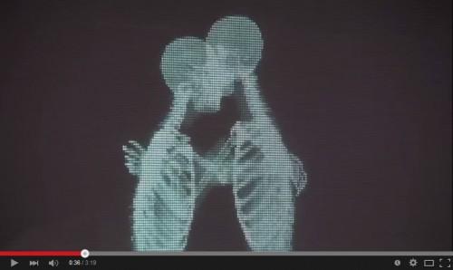人間の平等をレントゲンで表現した動画