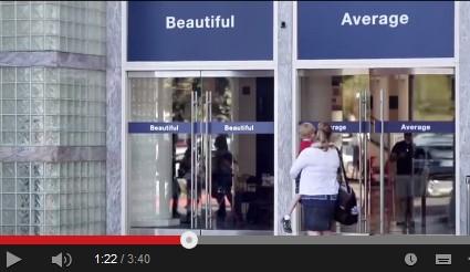 美人専用の入り口と、一般用の入り口をわけたらどうなる? ダブの広告映像が話題