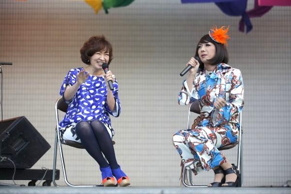 清水ミチコ、東京レインボープライド2015でLGBT応援宣言 「今日はすごい記念日」