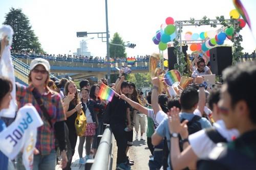 清水ミチコ、LGBT応援宣言