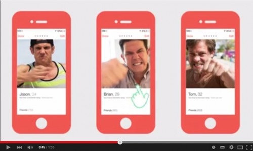 出会い系アプリのDV防止広告が話題