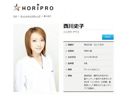 「発言に共感」と西川史子が人気急上昇