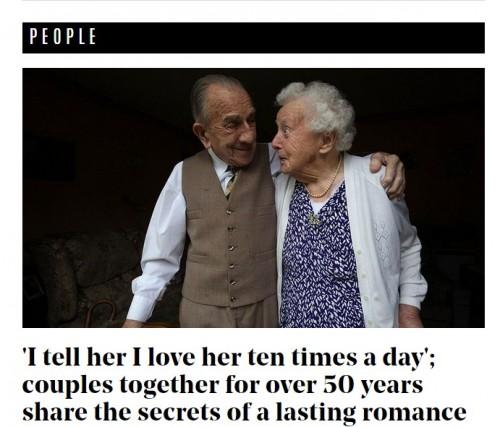 夫婦の永遠の愛はどうしたら手に入るのか? 結婚歴50年以上のカップルに学ぶ、長続きの秘訣