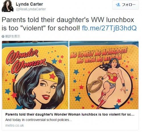 アメリカの学校でキャラ弁当箱が禁止