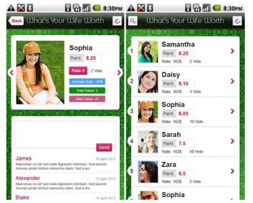 不倫サイトが妻を格付けするアプリ開発
