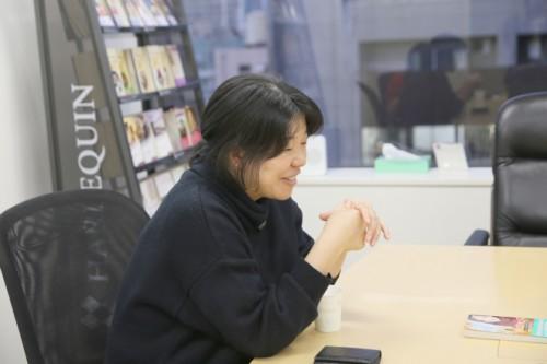 ハーレクイン・インタビュー