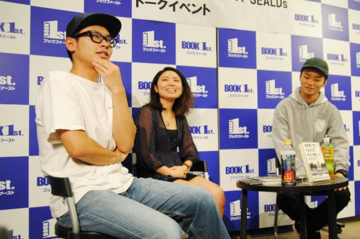 高橋源一郎×SEALDsがデモを振り返る「女性スピーチは未来への想像力がある」