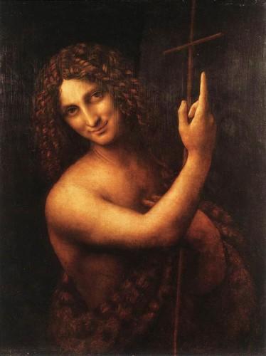「スフマート」の手法で描かれたダ・ヴィンチの絵画