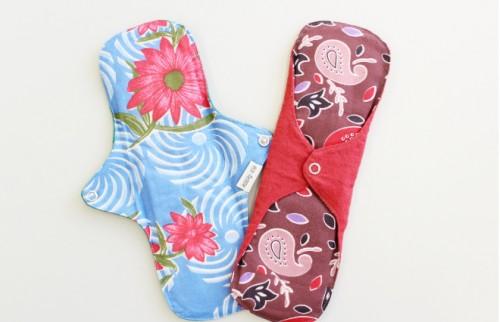 「Happy Pad Project」で提供されている布ナプキン