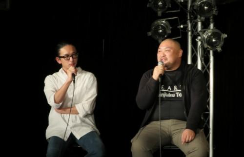 左:佐藤健寿 右:丸山ゴンザレス