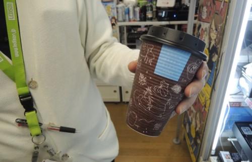 飲み口の部分にカメラが。普通のカップにもつけられる