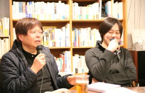 左:中森明夫氏、右:松谷創一郎氏