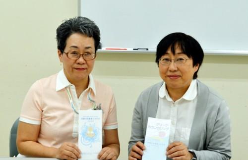 左:堀内成子さん/右:客員研究員の石井慶子さん