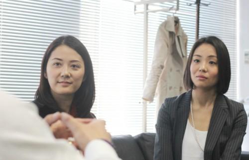 左:増原裕子さん 右:東小雪さん