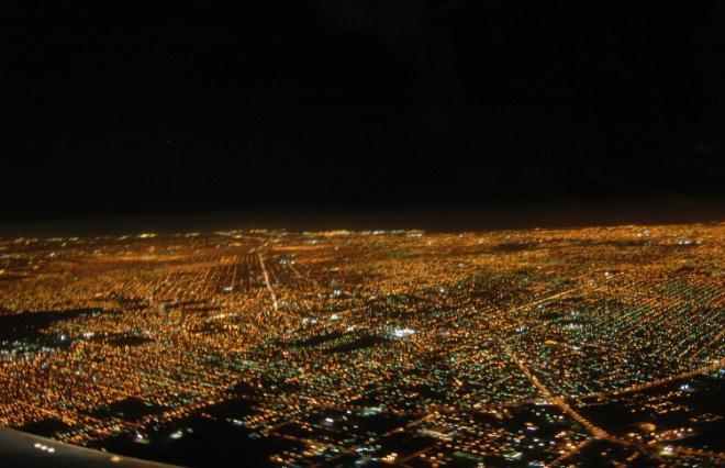 ブエノスアイレスの夜の顔 幻想的で美しい灯たち