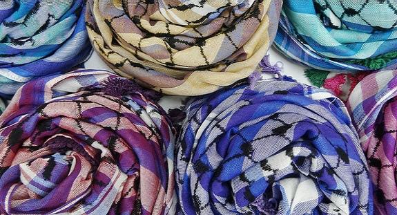 """最後のパレスチナ製スカーフ """"ラスト・カフィーヤ""""に魅せられて"""