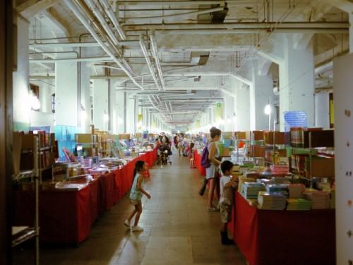 小さい子ども連れが多かったので、絵本や子ども向けの本のフェアだったのでしょうか