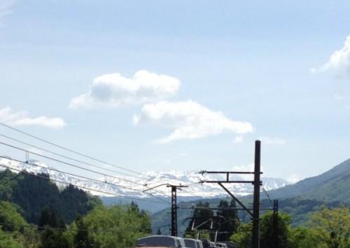 立山と電車top0930