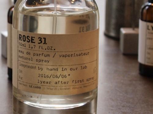 野生のバラをイメージした「ROSE」。「ルラボ」を代表する香り。