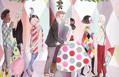おしゃれなMoMAのクリスマスカードで、一目おかれる年末のごあいさつ