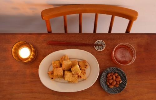 鶏っぽさ満点! 高野豆腐でつくる脂肪にならない「唐揚げ」【太らないつまみ】