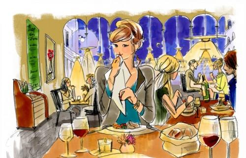 """パリジェンヌ流の""""モテ顔""""って? 食事デートにフレンチが適する理由"""