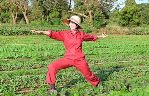 東京のヨガ講師が農家に嫁いでみたら 無農薬の宅配野菜を届ける夫婦ユニット