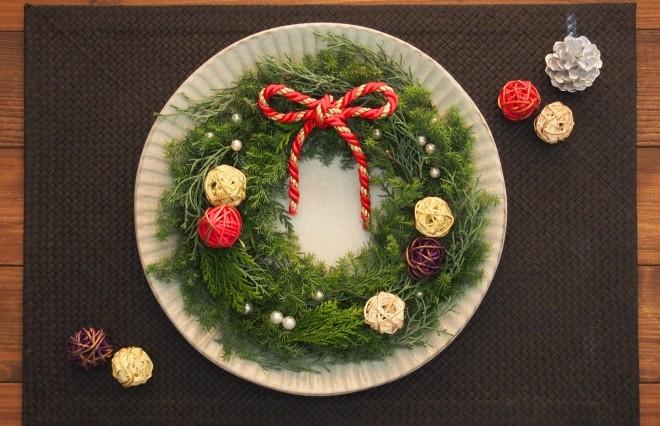 クリスマスのリース、捨てないで! 5分で正月飾りに変身させる簡単テク