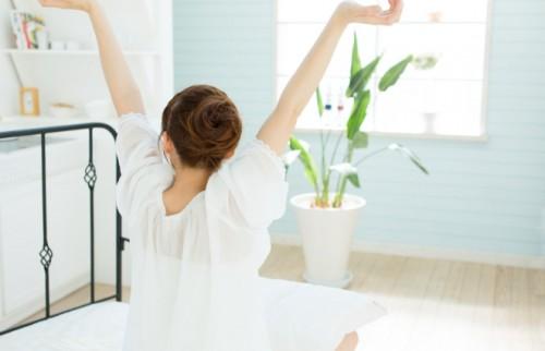体幹を意識して…! 美トレ効果を高める簡単ストレッチ