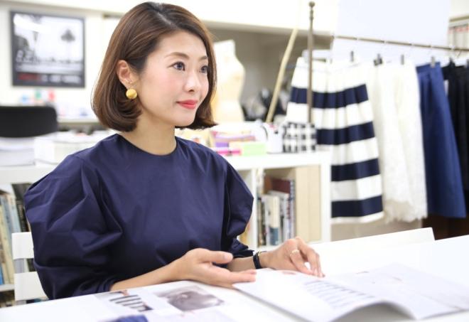 スカート専門のブランド「SHE Tokyo」を立ち上げた浅葉果林さん